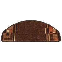 Covoras scara Ax Perpetuum Bombay poliamida maro inchis 26 x 65 cm