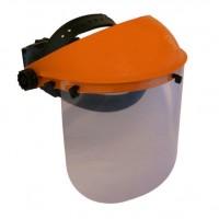 Viziera din plastic pentru protectie la lucrul cu motocoasa si atomizor, O-Mac