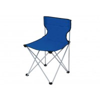 Scaun camping pliant D10006 structura metalica albastru 80 x 40 x 75 cm
