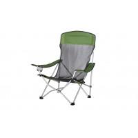 Scaun camping pliant D10066 structura metalica verde 59 x 81 x 88 cm
