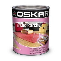 Lac pentru parchet Oskar Super Parchet, transparent, 2.5 L