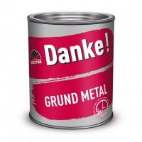 Grund pentru metal Danke, interior / exterior, rosu oxid, 2.5 L