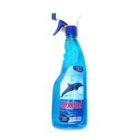 Detergent geamuri Axial, ocean, cu pulverizator, 750 ml