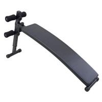 Banca fitness DHS 1011, pentru abdomene, curbata
