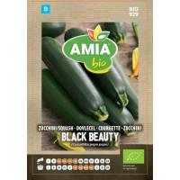 Seminte legume bio, dovlecel Black beauty