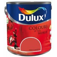 Vopsea latex interior, Dulux, fierry flamenco, 5 L