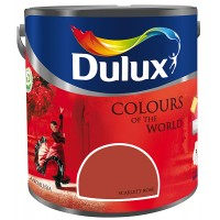 Vopsea latex interior, Dulux, scarlett rose, 5 L