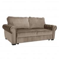 Canapea extensibila 2 locuri Eco Chester, bej, 206 x 103 x 82 cm, 1C