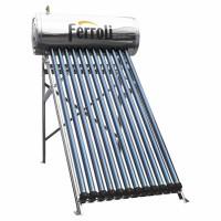 Panou solar Ferroli EcoHeat 200, cu boiler 200 L, pentru incalzire apa, presurizat