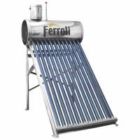 Panou solar Ferroli EcoSole 15 FRL-TF15, cu boiler 150 L, pentru incalzire apa, nepresurizat