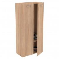 Etajera Next 5, PAL, stejar bardolino, 73.5 x 34 x 143 cm, 1C