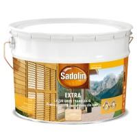 Lac / lazura pentru lemn, Sadolin Extra, incolor, interior / exterior, 10 L