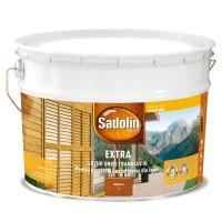Lac / lazura pentru lemn, Sadolin Extra, mahon, interior / exterior, 10 L