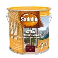 Lac / lazura pentru lemn, Sadolin Extra, mahon inchis, interior / exterior, 2.5 L