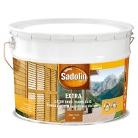 Lac / lazura pentru lemn, Sadolin Extra, stejar rustic, interior / exterior, 10 L