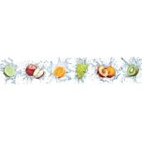 Panou decorativ bucatarie Splashback, compozit, luminescent, SPB 086, fructe, 2600 x 750 x 3 mm