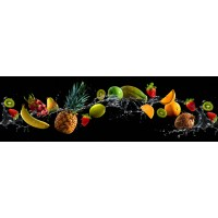 Panou decorativ bucatarie Splashback, compozit, luminescent, SPB 074, fructe, 2600 x 600 x 3 mm