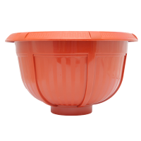 Ghiveci din plastic Olimp, caramiziu D 28 cm