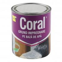Grund pentru lemn pe baza de apa, Coral, 0.75 L