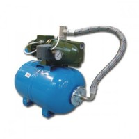 Hidrofor Saer M50, cu pompa autoamorsanta din fonta + vas 24 L + presostat + manometru + furtun flexibil + racord 5 cai, 370 W