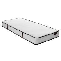 Saltea pat Ideal Sleep, 1 persoana, ortopedica, cu spuma poliuretanica + arcuri, 120 x 200 cm
