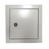 Usita vizitare, uz casnic, cu cheita, metal, 300 x 300 mm