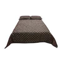 Cuvertura de pat + fete de perna, tafta, diverse culori, 220 x 240 cm