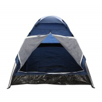Cort camping 2 persoane D20004 poliester 200 x 140 x 100 cm