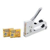 Capsator manual, pentru tapiterie, Lumytools LT71160, pentru capse 4 - 14 mm