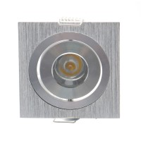 Spot LED incastrat MT 120 70327, 1W, lumina neutra, orientabil, aluminiu