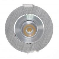 Spot LED incastrat MT 119 70325, 1W, lumina neutra, orientabil, aluminiu