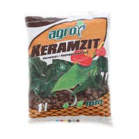 Granule decorative naturale argila Keramzit, interior / exterior, 4-8 mm, 1L