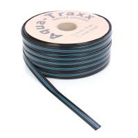 Banda pentru irigatii prin picurare Aqua Traxx, 6 mil, D 17 mm, distanta orificii 10 cm, rola 200 m