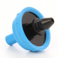Duza pentru tub pentru irigatii prin picurare, cu regulator de presiune, debit orificiu 2 l/h, polipropilena, set 5 buc