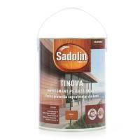 Impregnant pentru lemn Sadolin Tinova, mahon, exterior, 5 L
