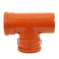 Baza curatire, pentru retele de canalizari exterioare, PVC, KGET FP MS, 200 x 200 x 200 mm