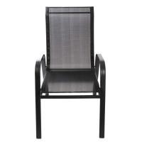 Scaun pentru gradina, ZR1657, metal + textilen