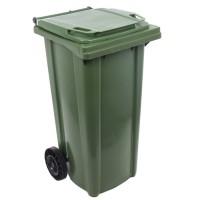 Europubela cu rotile, verde, 120L