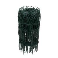 Plasa gard ornamental Versay,acoperita cu PVC, verde, 0,4 x 10 m