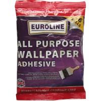 Adeziv pentru tapet, interior, Euroline, incolor, 100 gr