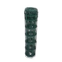 Plasa gard ornamental Versay, acoperita cu PVC, verde, 0,9 x 10 m