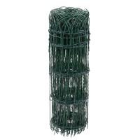 Plasa gard ornamental Versay, acoperita cu PVC, verde, 0,6 x 10 m