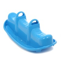 Balansoar copii, vapor, din plastic, interior / exterior, 103,5 x 43,5 x 36,5 cm