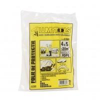 Folie protectie mobilier, Lumytools LT 07660, 0.007 mm, 5 x 4 m