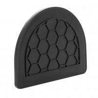 Placa de capat inchisa, PE-HD, pentru rigole DN 100/80 mm, 114 x 87.5 mm