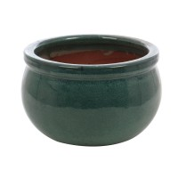 Ghiveci ceramic 21237 V, rotund, 25 x 15 cm