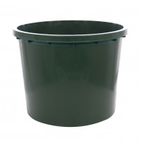 Butoi / cada plastic Dolplast, fara capac, 500 litri, verde D 103 cm