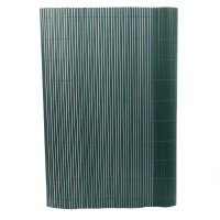 Gard artificial, model bambus, verde, 100 x 300 cm