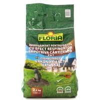Ingrasamant gazon Floria, granule, efect respingator impotriva cartitelor, 2.5 kg