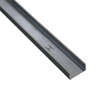Profil special gips carton Rigips, tabla din otel zincat, Rigiprofil CW 100 x 50 x 3000 mm